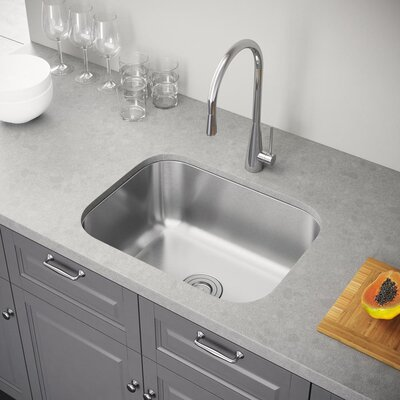 23 x 18 Undermount Kitchen Sink with Strainer