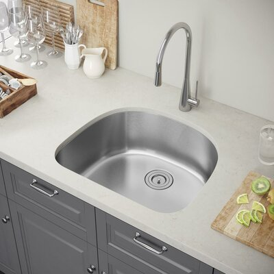 24 x 21 Undermount Kitchen Sink with Strainer