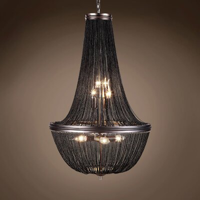 Lininger 6-Light Empire Chandelier