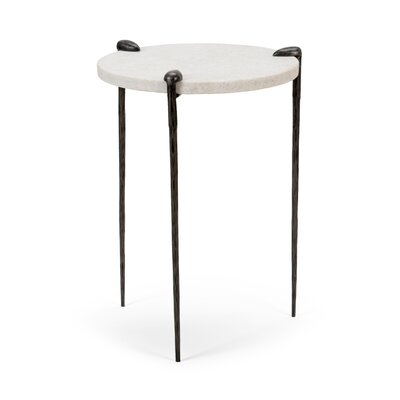 Tate End Table Color: Steel