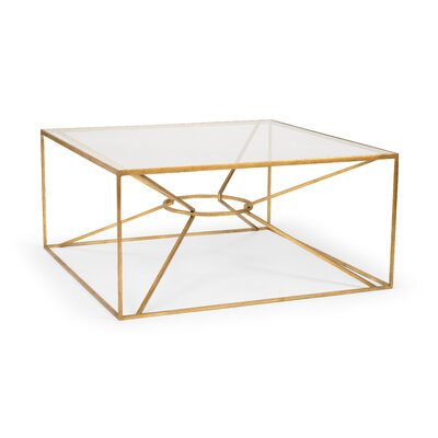 Emery Coffee Table Color: Gold