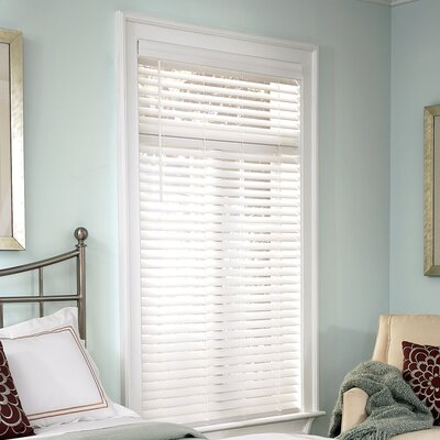 Isabella Faux Wood Cordless Room Darkening Venetian Blind