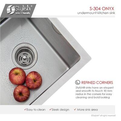 30 x 18 Double Basin Undermount Kitchen Sink