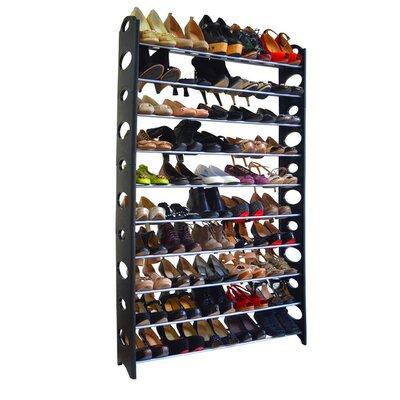 10-tier 50 Pair Shoe Rack