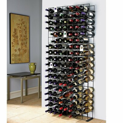 Tie Grid 144 Bottle Floor Wine Rack