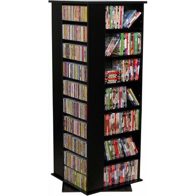 928 CD Multimedia Revolving Tower Color: Black