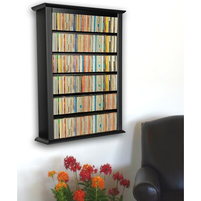 Single Wall Mounted Storage Rack Finish: Black