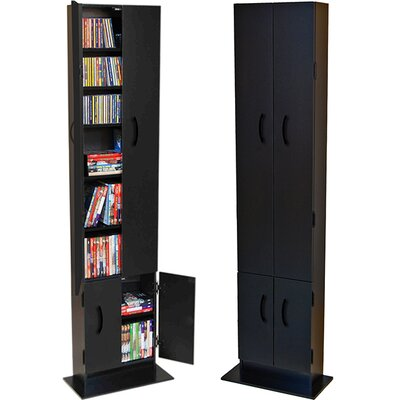 Multimedia Cabinet Finish: Black