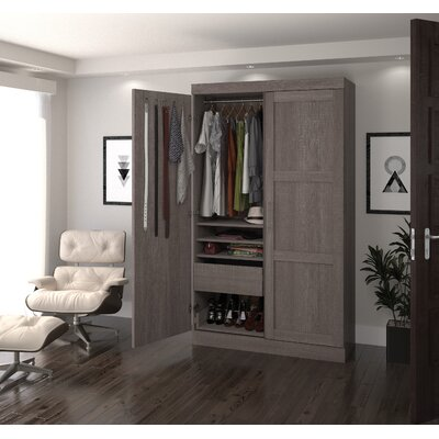 Armoire Finish: Bark Gray