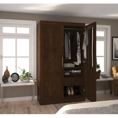 Nebeker Armoire Color: Chocolate