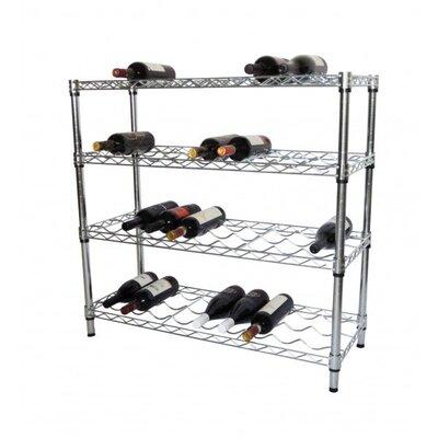 EcoStorage 36 Bottle Floor Wine Rack