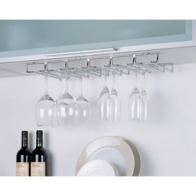 Hanging Wine Glass Rack (Set of 6)