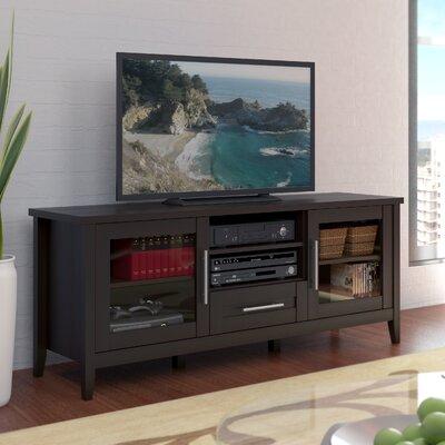 Jiles Espresso Wood 59 TV Stand