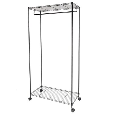 Double Layer Garment Free-Standing Drying Rack B58D1F39FDD64CC58FEF7508147EE681