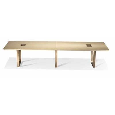 Rectangular Conference Table Size: 29 H x 120 W x 48 D