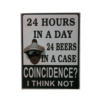 Phina '24 Hours in a Day...' Bottle Opener RBRS8043 40571991