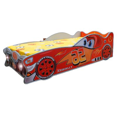Zig-Zag Mcqueen Toddler Car Bed