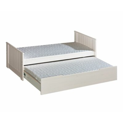 Tomi Platform Bed with Trundle tomi