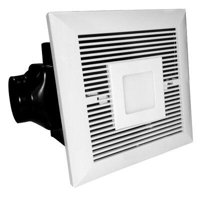 120 CFM Bathroom Fan With LED Light