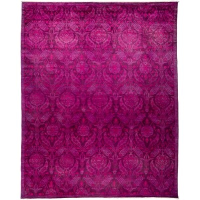 Vibrance Hand-Knotted Purple / Pink Area Rug