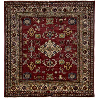 One-of-a-Kind Kazak Hand-Knotted Red / Brown Area Rug