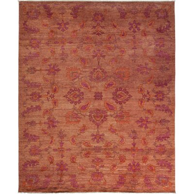 One-of-a-Kind Oushak Hand-Knotted Bronze Area Rug