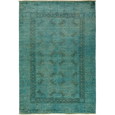 Vibrance Hand-Knotted Light Blue Area Rug