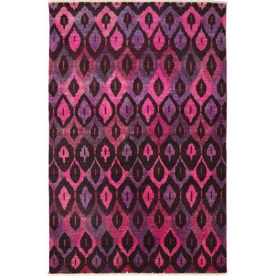 One-of-a-Kind Ziegler Hand-Knotted Pink / Purple Area Rug