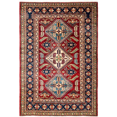One-of-a-Kind Shirvan Hand-Knotted Red / Ivory Area Rug