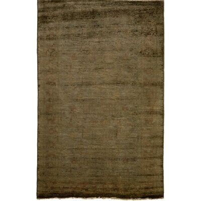 One-of-a-Kind Vibrance Hand-Knotted Sand Area Rug