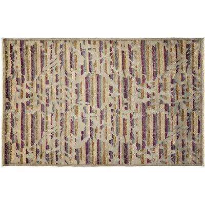 Arts and Crafts Hand-Knotted Gray Area Rug