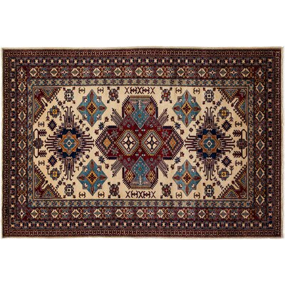 Shirvan Hand-Knotted Ivory/Brown Area Rug