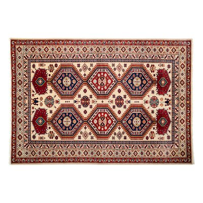 Shirvan Hand-Knotted Cream Area Rug