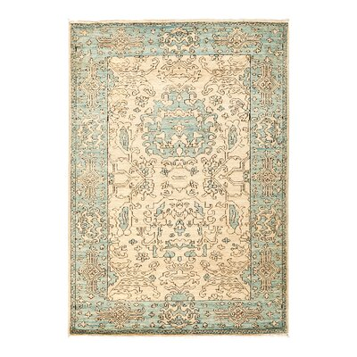 One-of-a-Kind Anatollia Hand-Knotted Beige Area Rug