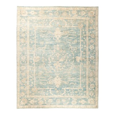 One-of-a-Kind Anatollia Hand-Knotted Blue Area Rug