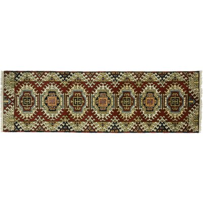 One-of-a-Kind Ardabil Hand-Knotted Multicolor Area Rug
