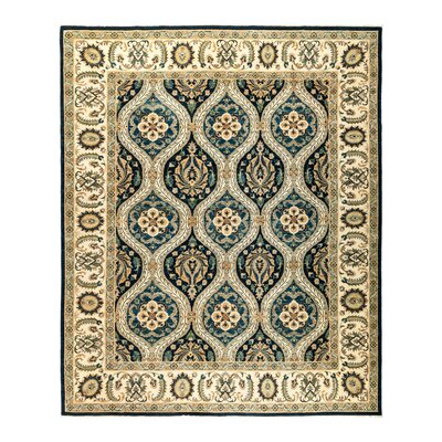 One-of-a-Kind Fine Ghazni Hand-Knotted Multicolor Area Rug
