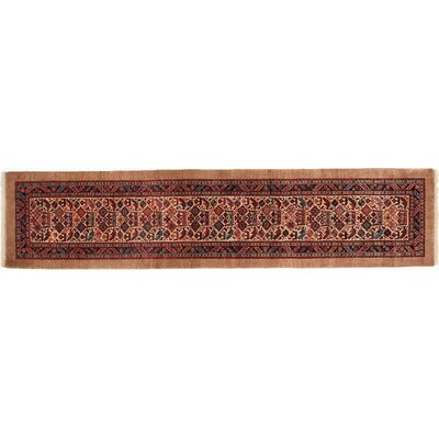 Gashghai Hand-Knotted Red Area Rug