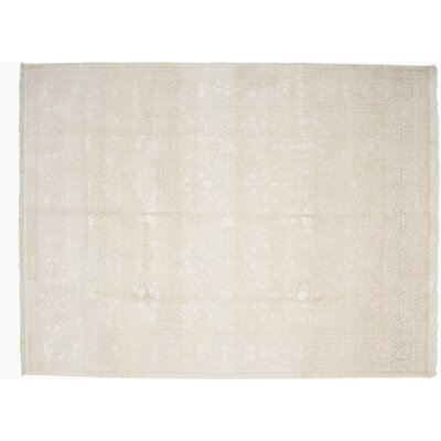 Jaipur Hand-Knotted Ivory Area Rug