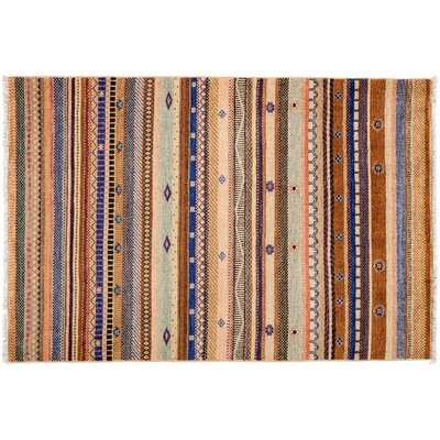 Lori Hand-Knotted Multicolor Area Rug