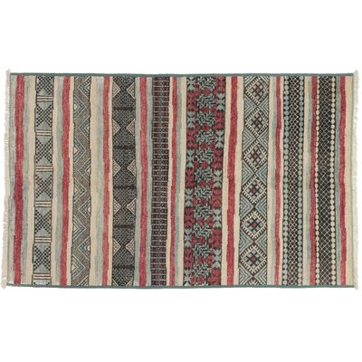 One-of-a-Kind Marrakesh Hand-Knotted Multicolor Area Rug