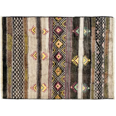 Marrakesh Hand-Knotted Multicolor Area Rug
