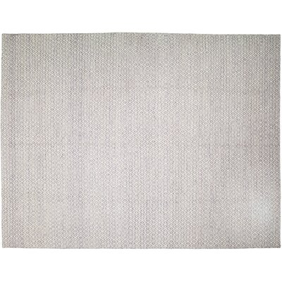 One-of-a-Kind Modern Hand-Knotted Gray Area Rug