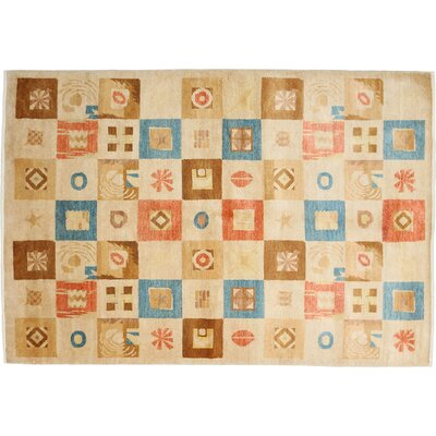 Modern Hand-Knotted Multicolor Area Rug