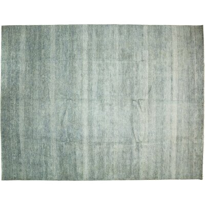 Savannah Hand-Knotted Blue Area Rug