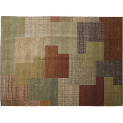 Savannah Hand-Knotted Multicolor Area Rug