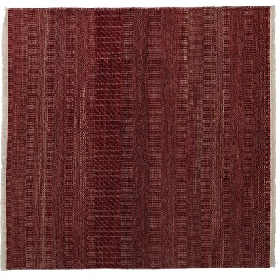 Savannah Hand-Knotted Red Area Rug Rug Size: 4 x 41