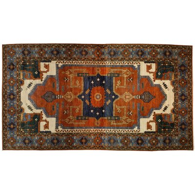 One-of-a-Kind Serapi Hand-Knotted Multicolor Area Rug