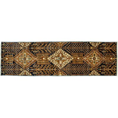 One-of-a-Kind Serapi Hand-Knotted Brown Area Rug