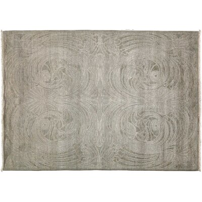 Shalimar Hand-Knotted Gray Area Rug